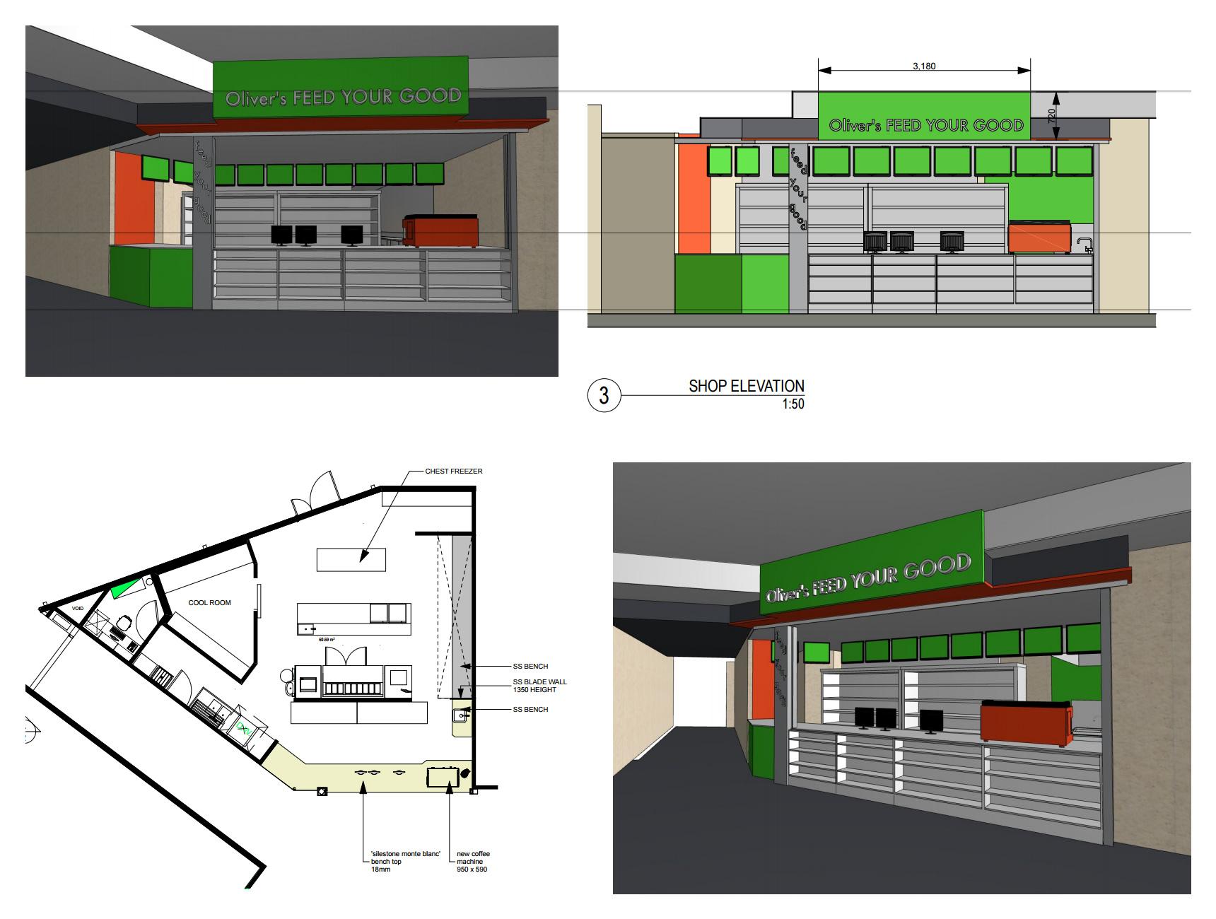 Oliver's Store Design